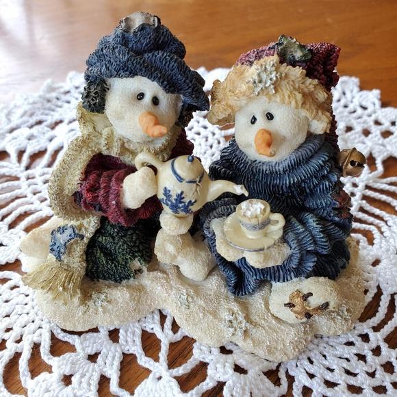 Boyds Bears Other - Boyd's Bear Resin Winter Snowmen 36503